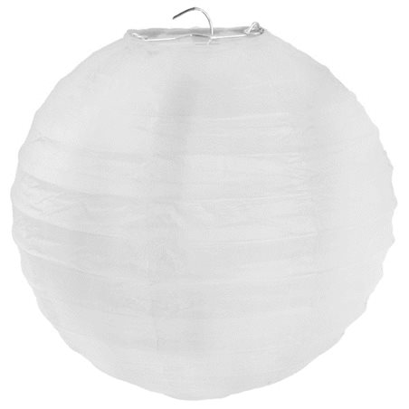 Lanterne Papier 50cm - Blanc