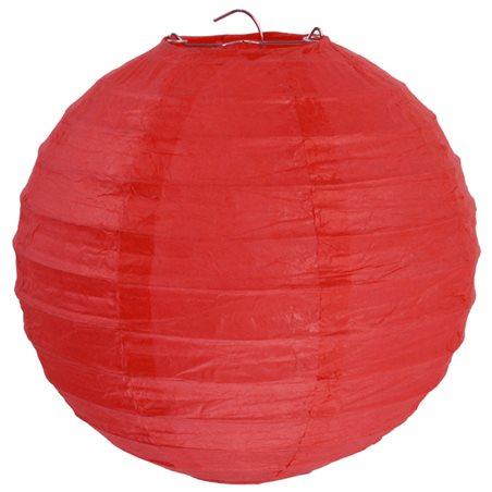 Lanterne Papier 50cm - Rouge