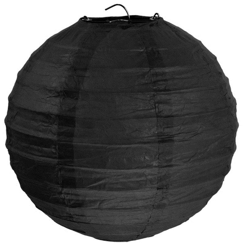 Lanterne Papier 50cm - Noir