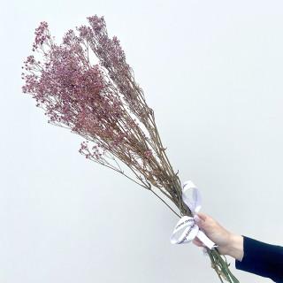 Bouquet de limonium stabilisé violet
