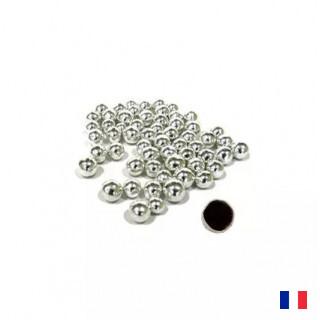 Dragées Perle Chocolat Argent