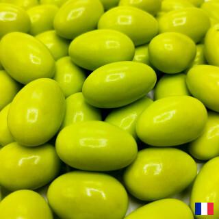 Dragées Amandes Fines Tendres Vert Anis