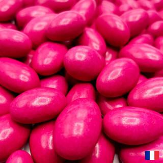 Dragées Amande 20% Fuchsia