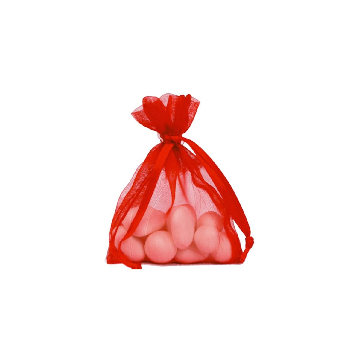 Sachet Dragées Rouge x 10