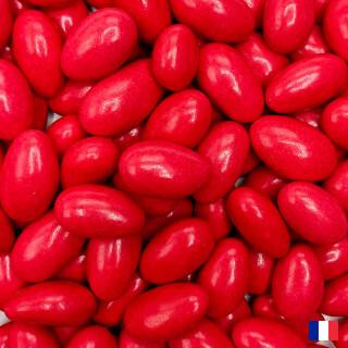 Dragées Amande 20% rouge