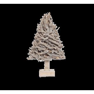 Sapin décoratif en bois 30cm