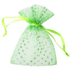 Sachet Dragées Pois x10 - Vert
