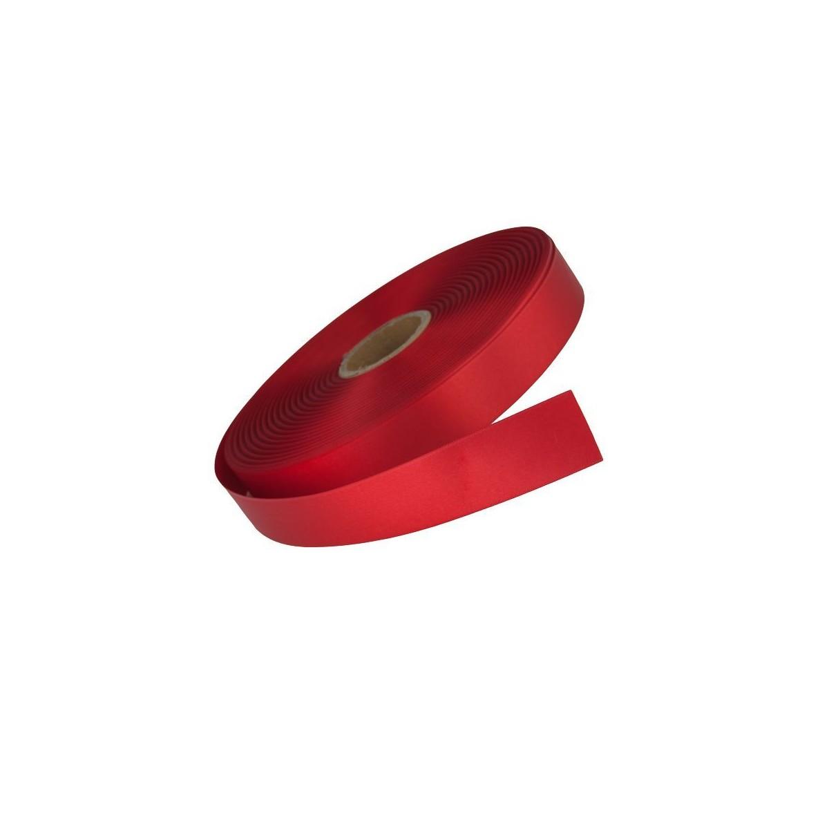 Ruban Satin Rouge 6mm - 25m