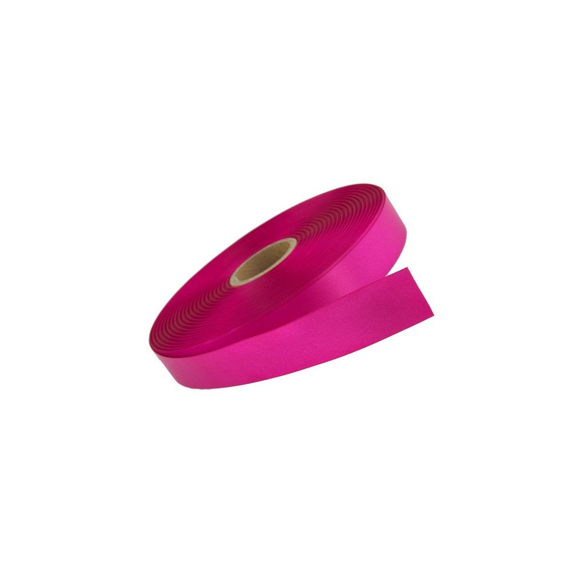Ruban Satin Fuchsia 6mm -25m