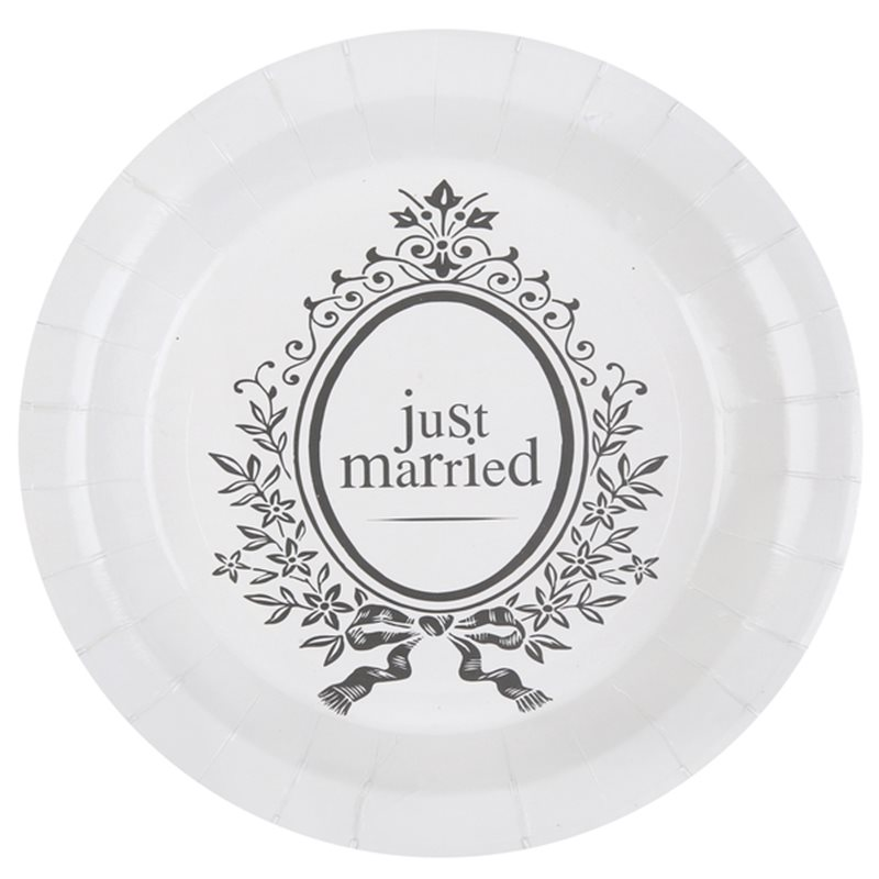 Assiette Jetable Just Married