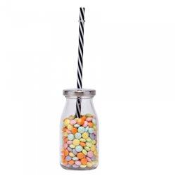 Bouteille Candy Bar avec Paille