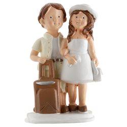Figurine Mariés Voyage