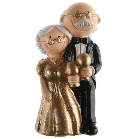 Figurine Mariage Noces D'or