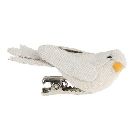 Oiseau Pince Lin x 2