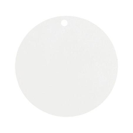 Etiquette Dragées Ronde x 10 - Blanc