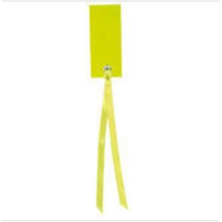 Etiquette Rectangle Ruban Satin x12 - Vert