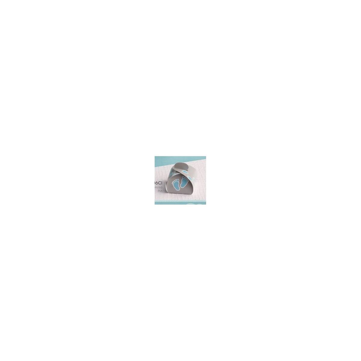 Ballotin Dragées Pied Bleu x50