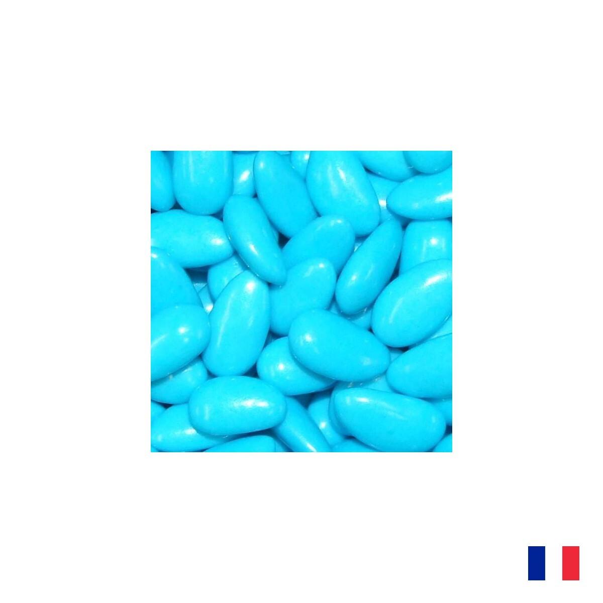 1kg Dragées Amande Turquoise