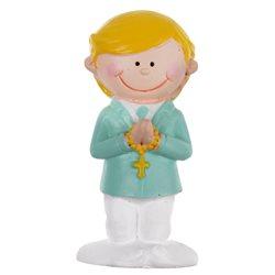 Figurine Communion Garçon Menthe