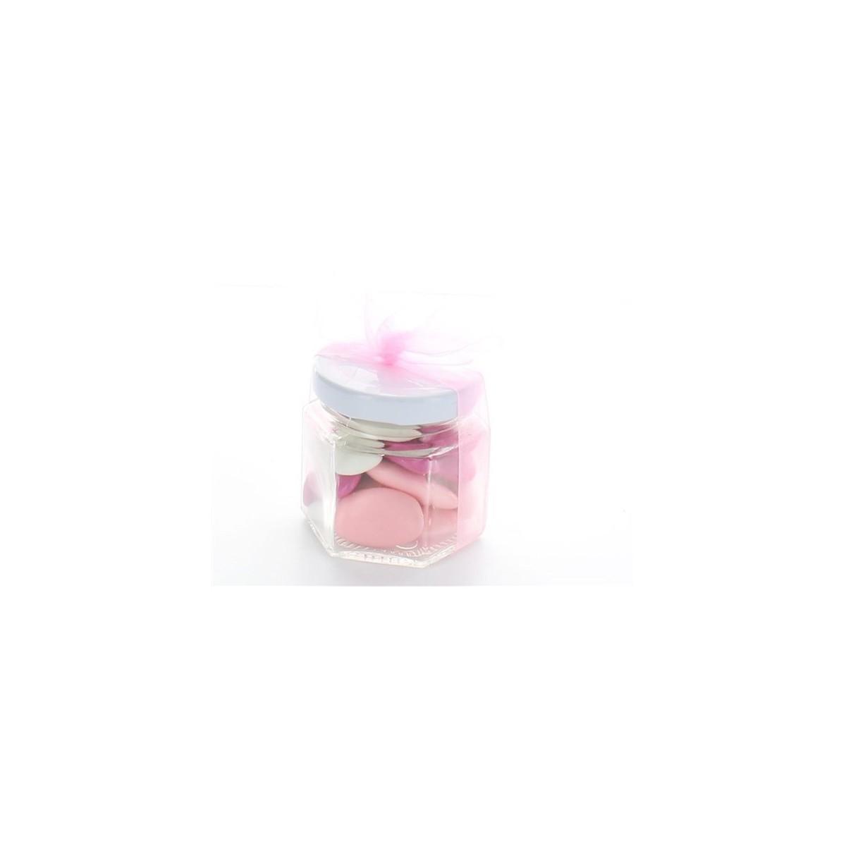 Mini Pot Confiture Couvercle Blanc