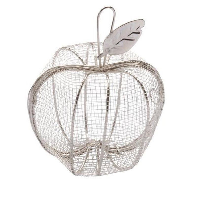 Contenant Dragées Pomme Métal x1
