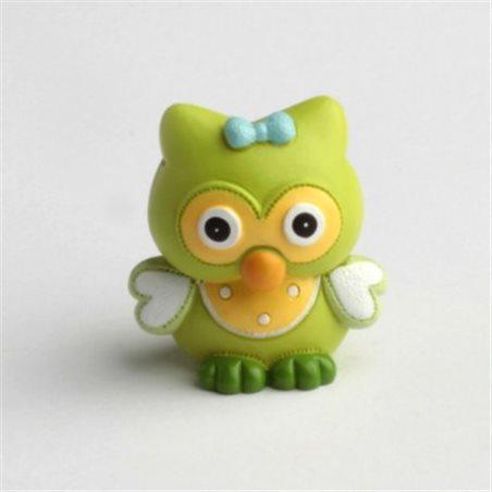 Figurine Hibou Vert