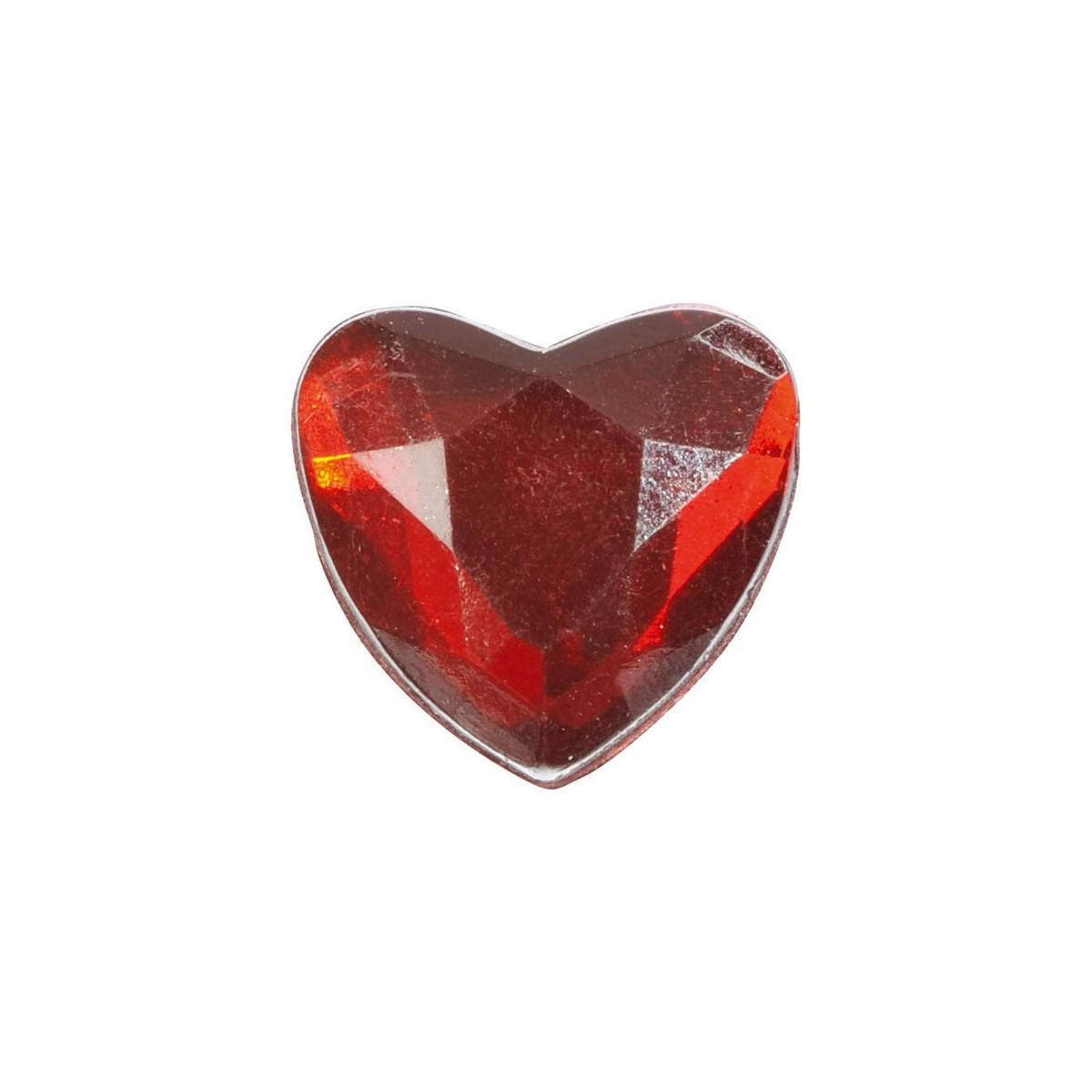 Décoration de table Petit coeur Rouge