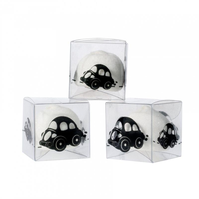 Boite Dragées Cube Voiture