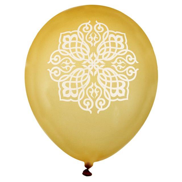 Ballon de Baudruche Oriental or x 8