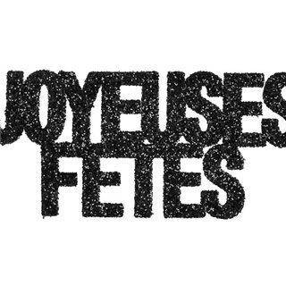 Confetti pailleté Joyeuses Fêtes