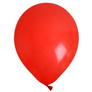 Ballon de Baudruche uni Rouge x 8