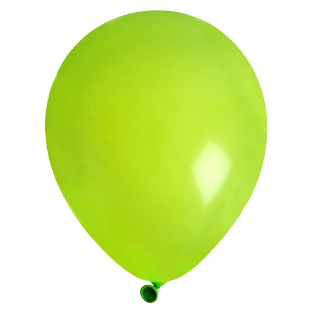Ballon de Baudruche uni Vert x 8
