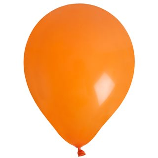 Ballon de Baudruche uni Orange x 8
