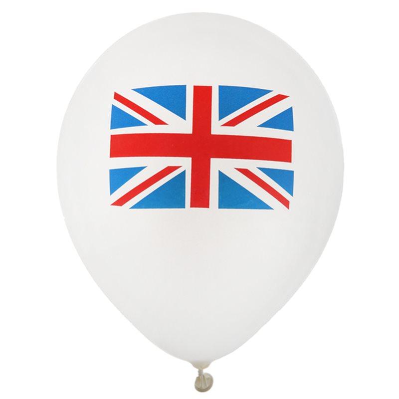 Ballon de Baudruche Angleterre x 8