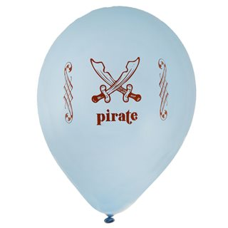 Ballon de Baudruche Pirate x 8