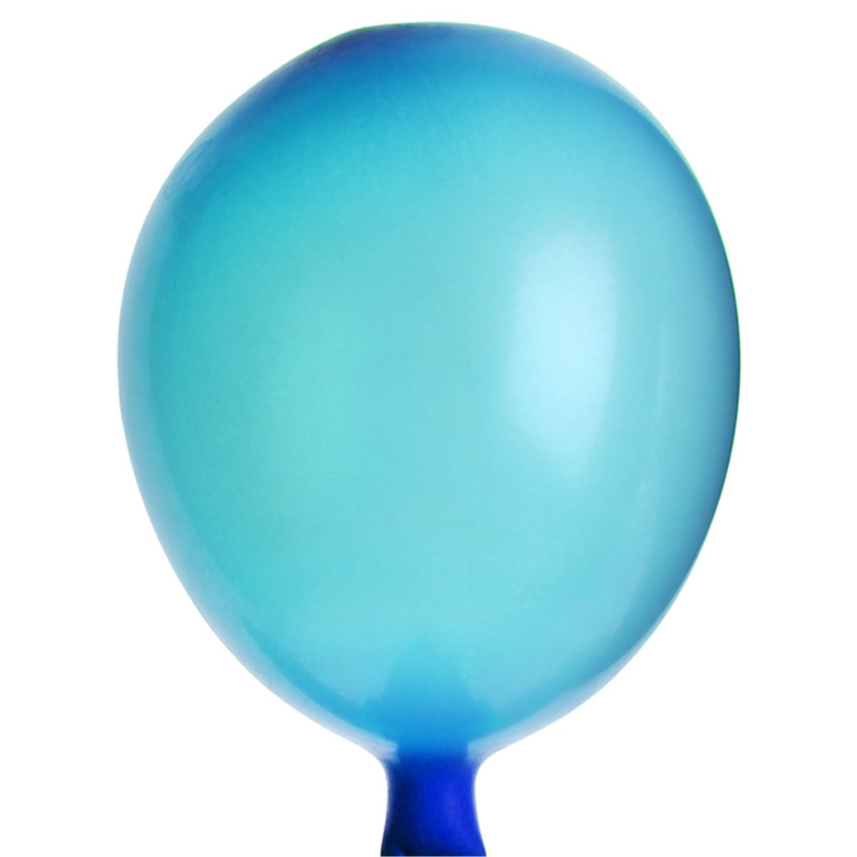 Mini Ballon de Baudruche Turquoise x25