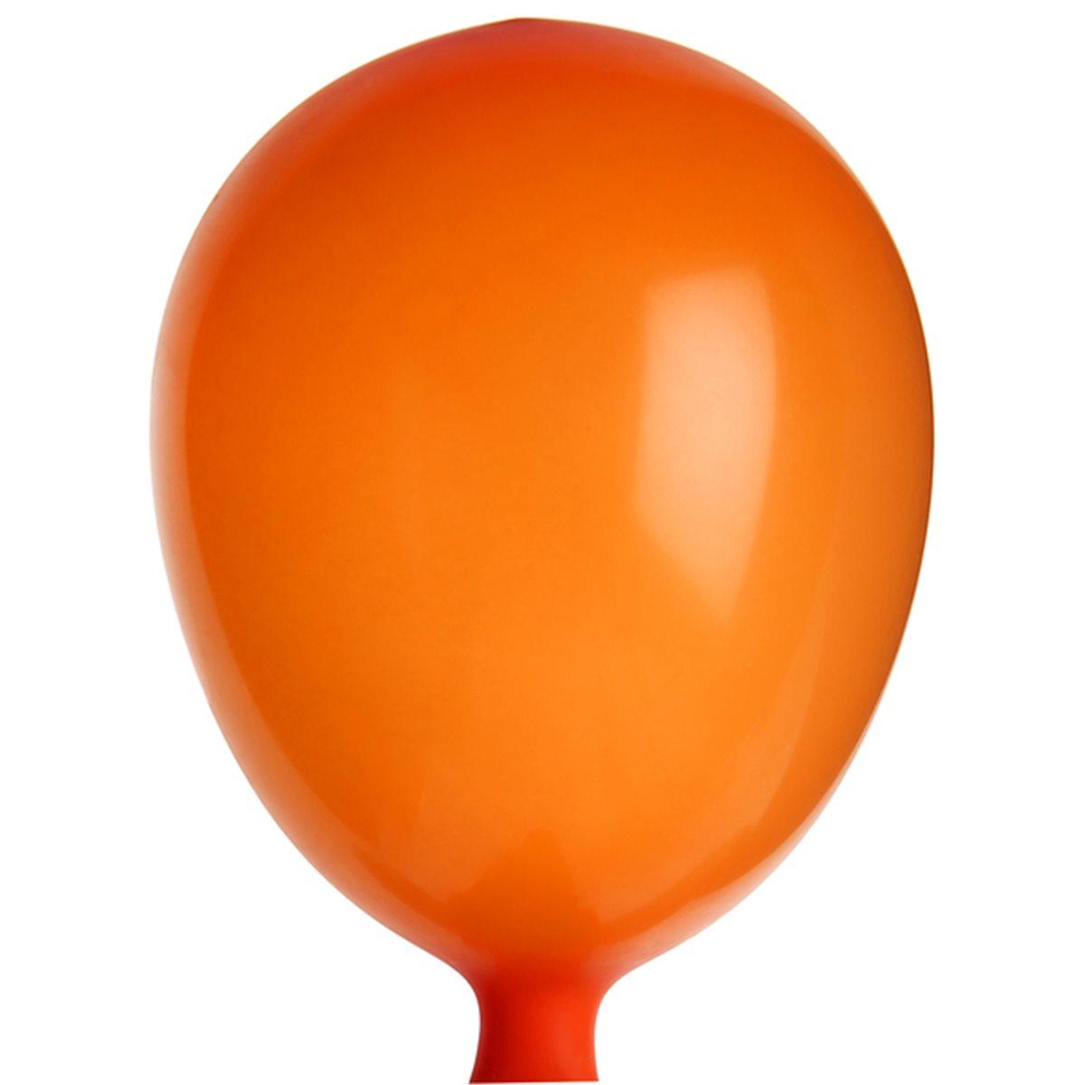 Mini Ballon de Baudruche Orange x 25