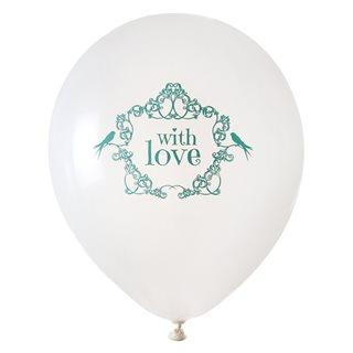 Ballon de Baudruche Vintage vert x 8