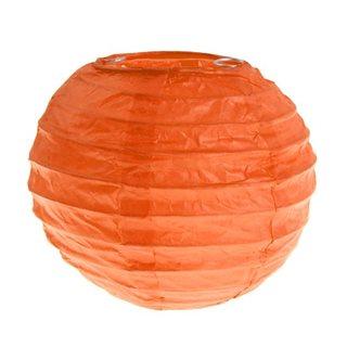 2 x Mini lanterne Papier - Orange