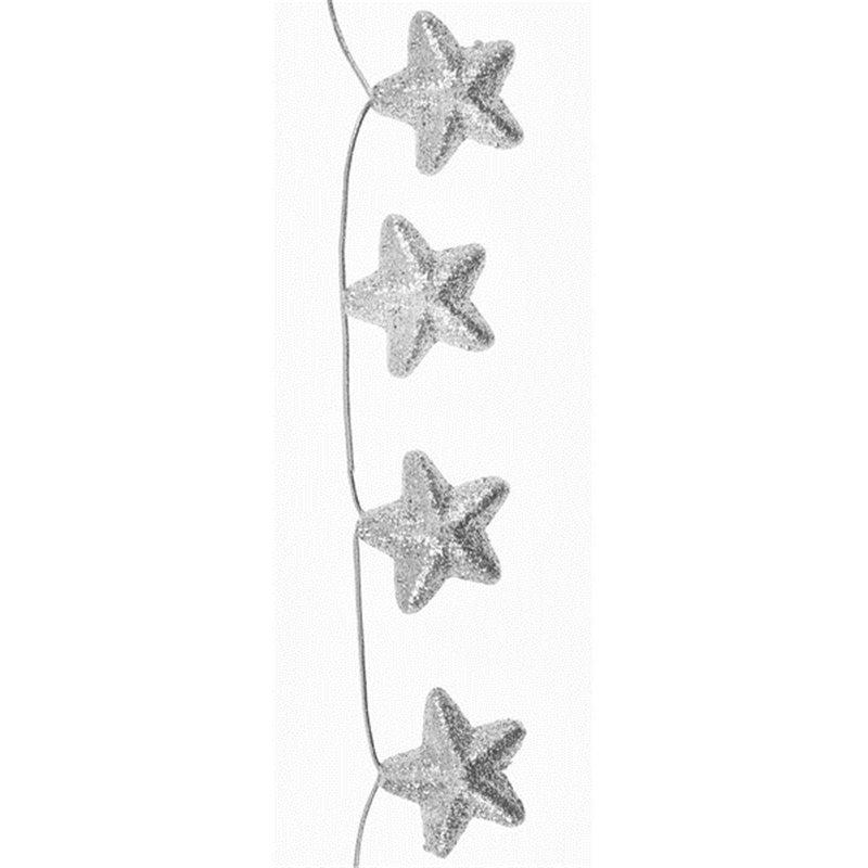 Guirlande d'étoiles de neige
