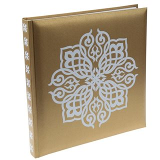Livre d'or Mariage Oriental Or