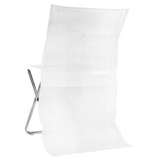 Housse de Chaise Blanc x 10