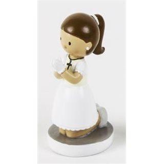 Figurine Communion Fille 4.5 cm