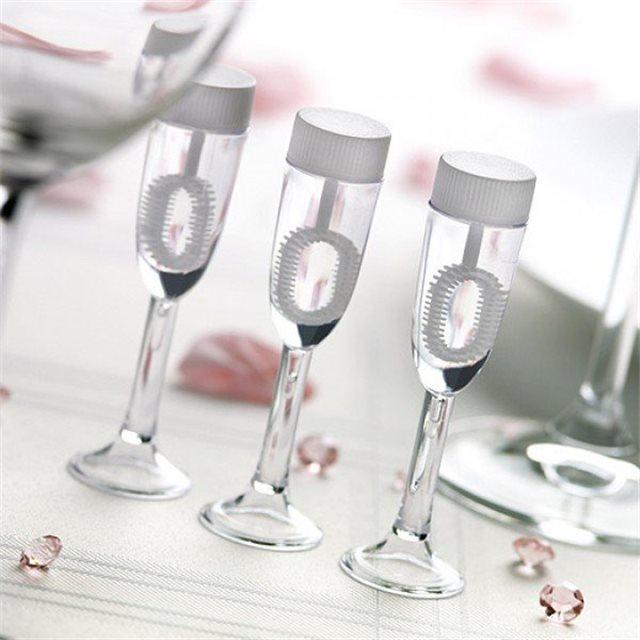 Bulle Savon Mariage Flûte Champagne x 6