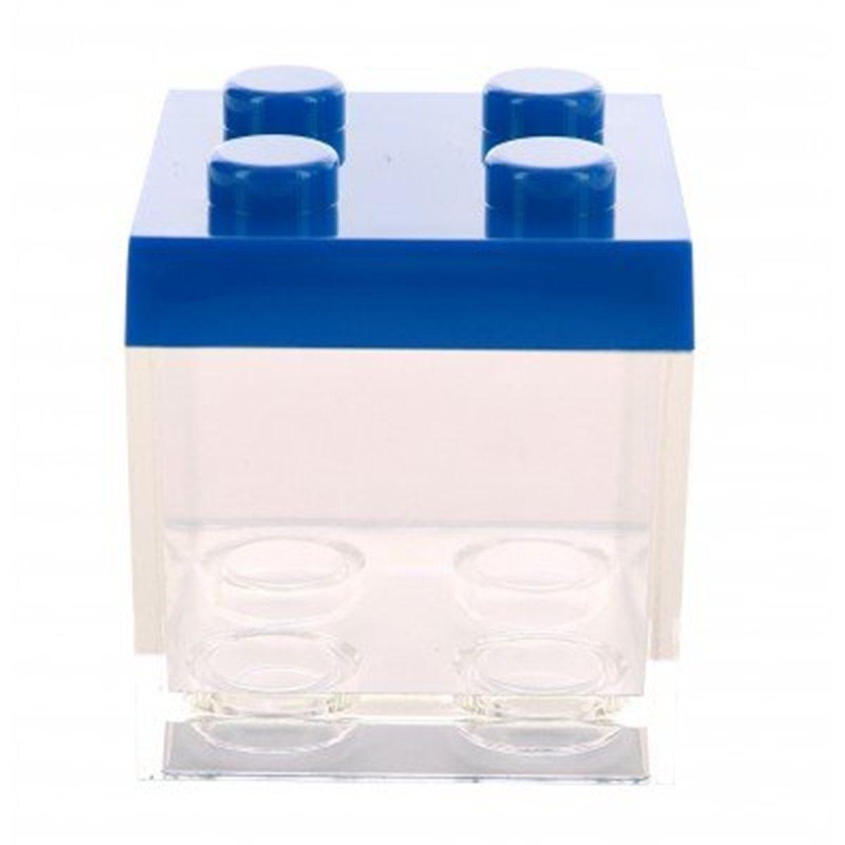Contenant Dragées Lego Bleu marine x1
