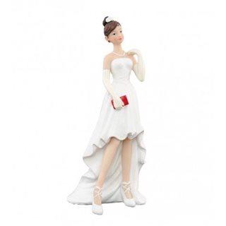 Figurine Mariée Robe Courte