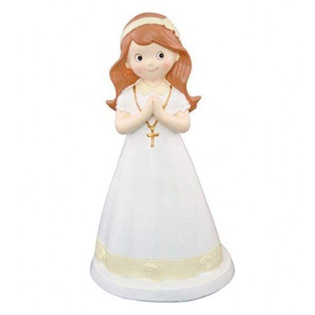 Grande Figurine Communion Fille