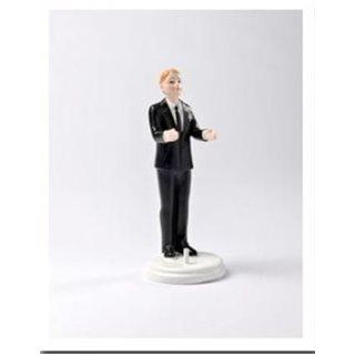 Figurine Marié Seul Homme Blond