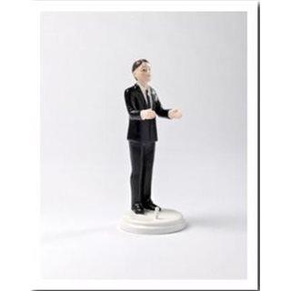 Figurine Marié Seul Brun
