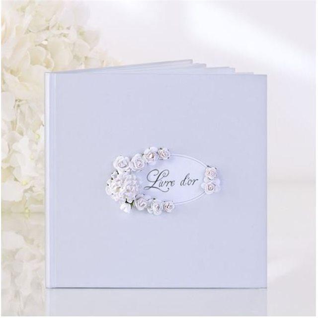 Livre D'or Fleur Blanche